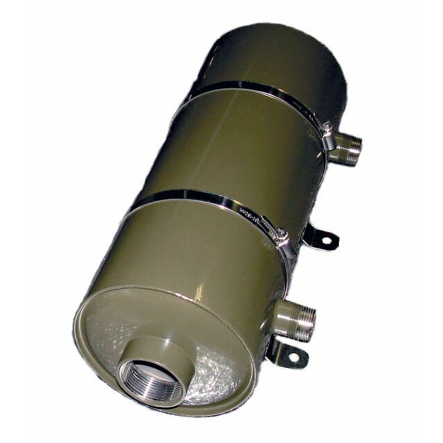 Теплообменник Runvil «P8-08», 28 кВт. Корпус AISI-316L, подключение Ø 50 мм, 1.5