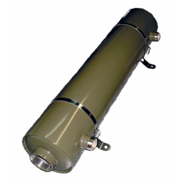 Теплообменник Runvil «P8-10», 75 кВт. Корпус AISI-316L, подключение Ø 63 мм, 2 дюйма