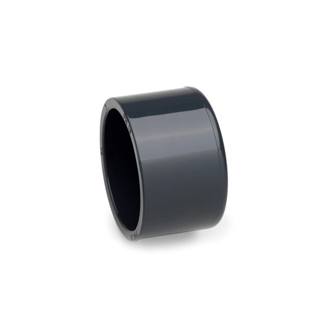 Заглушка ПВХ клеевая Plimat, Ø 125 мм, PN16
