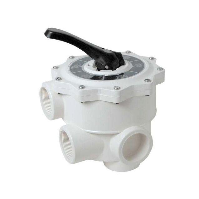Вентиль 6-ти позиционный многоходовой AQUA Industrial Group «SV-15» 100100483, боковое подключение Ø 1.5 дюйма