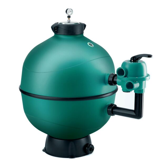 Фильтр песочный ESPA «FKP7606LT» 130908, загрузка песка 300 кг, 22 м³/час, Ø 760 мм