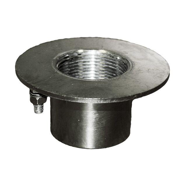 """Форсунка закладная для подключения пылесоса Runvil P7-14, Ø 95 мм, под плитку, подключение Ø 1.5"""" дюйма (внутренняя резьба)"""
