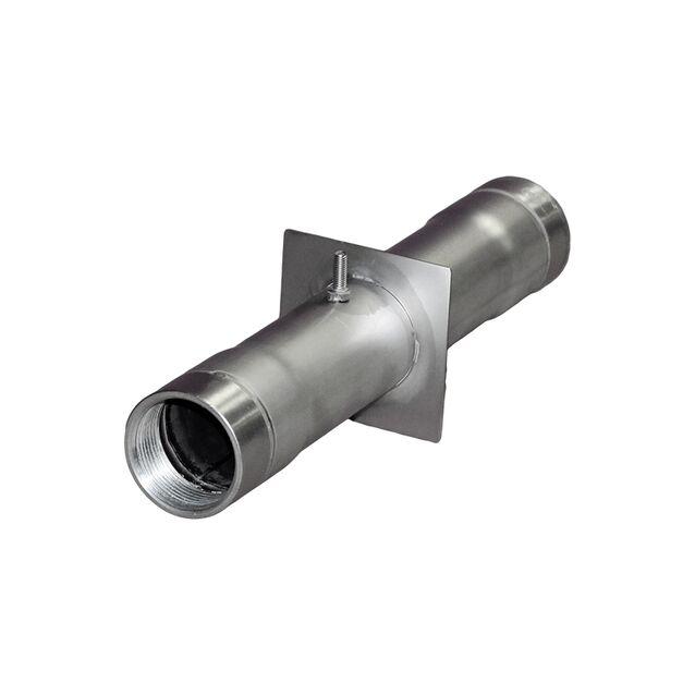 """Стеновой проход Runvil P7-17, Ø 100 мм, длина 300 мм, под плитку, подключение Ø 1.5"""" дюйма (внутренняя резьба)"""
