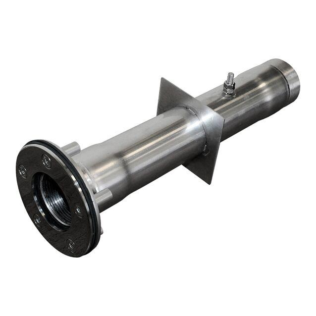 """Стеновой проход Runvil P7-18, Ø 100 мм, длина 300 мм, под плёнку, подключение Ø 1.5"""" дюйма (внутренняя резьба)"""