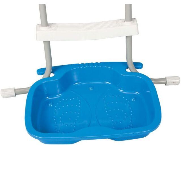 Ванночка для ног «Pool Foot Bath» Intex 29080. Для ополаскивания ног перед купанием в бассейне