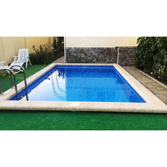 Бетонный бассейн «ОПТИМА», размер 5 × 3.18 × 1.5 м