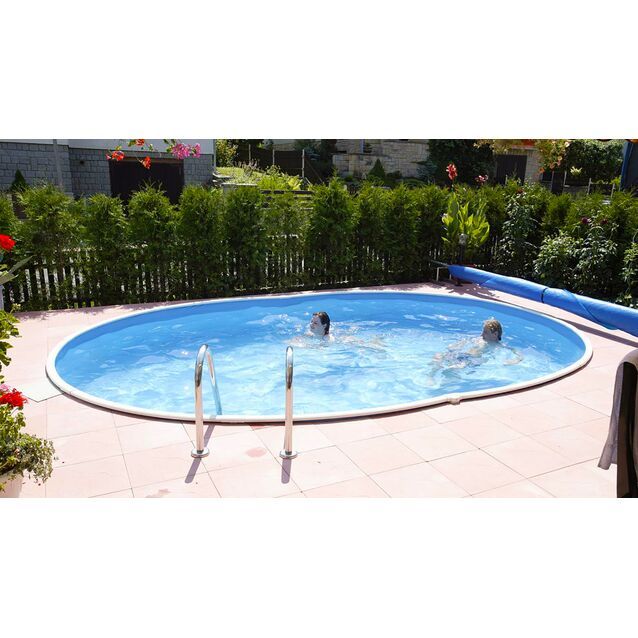 Сборный бассейн Mountfield «Azuro» 404 DL, размер 550 × 370 × 120 см