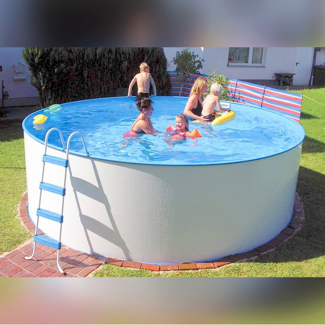 Сборный бассейн Summer Fun Exklusiv «Rund» 4501010172KB, размер 450 × 150 см