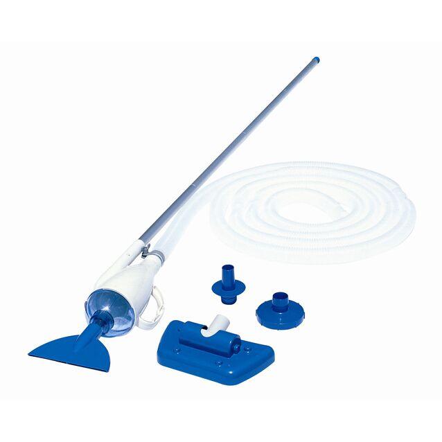 Ручной пылесос «Pool Vacuum Cleaner» Bestway 58212. Вакуумный очиститель дна и стенок бассейна