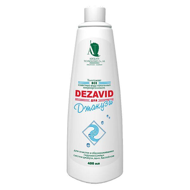 Дезавид для джакузи жидкий, Адекватные технологии, 400 мл. Средство для очистки и дезинфекции гидромассажных систем