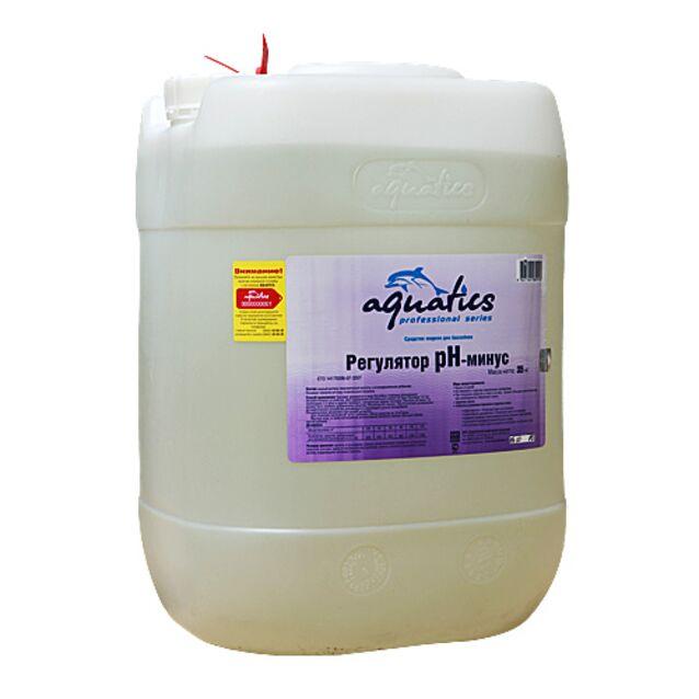 pH-минус жидкий, Aquatics pH-Minus, 35 кг. Средство для понижения уровня pH воды