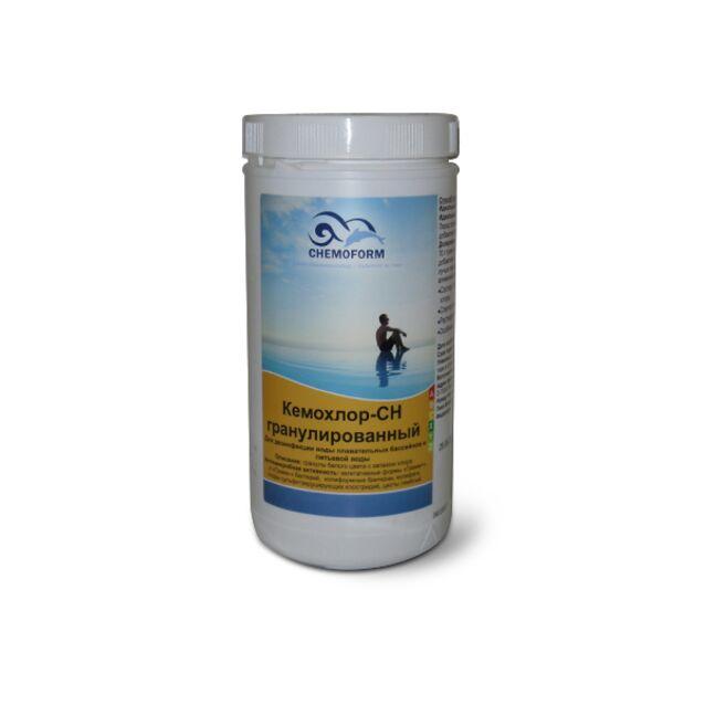 Кемохлор CH в гранулах, Chemoform 0401001, 1 кг. Дезинфекция воды на основе нестабилизированного хлора