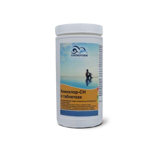 Кемохлор CH таблетки, Chemoform 0402001, 1 кг. Дезинфекция воды на основе стабилизированного хлора
