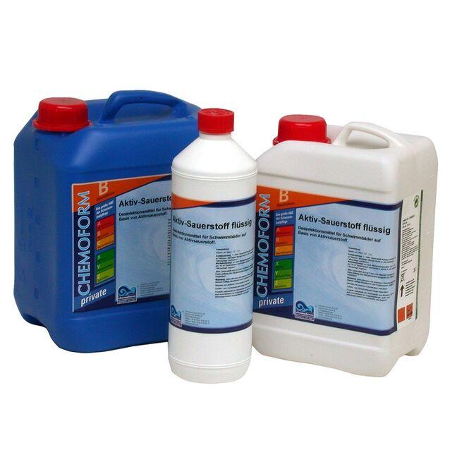 Активный кислород жидкий, Chemoform 0596022, 22 л. Дезинфекция воды без хлора