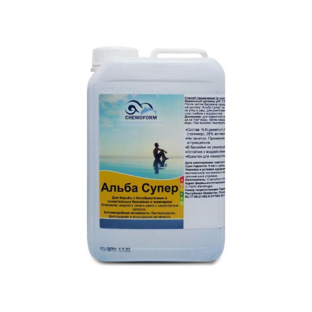 Альгицид Альба Супер Chemoform 0602003, 3 л. Средство против водорослей