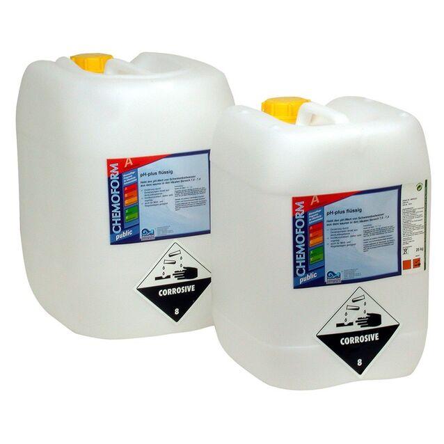 pH-плюс жидкий, Chemoform 0801025, 25 л. Средство для повышения уровня pH воды