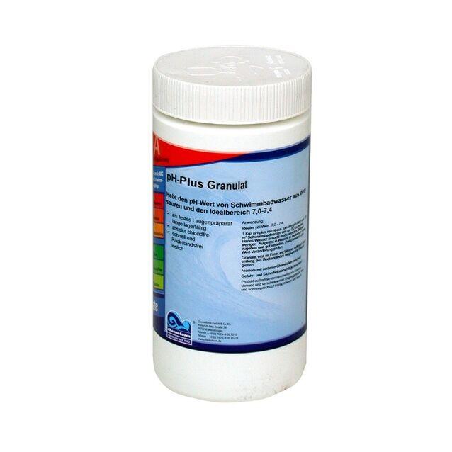 pH-плюс в гранулах, Chemoform 0802001, 1 кг. Средство для повышения уровня pH воды