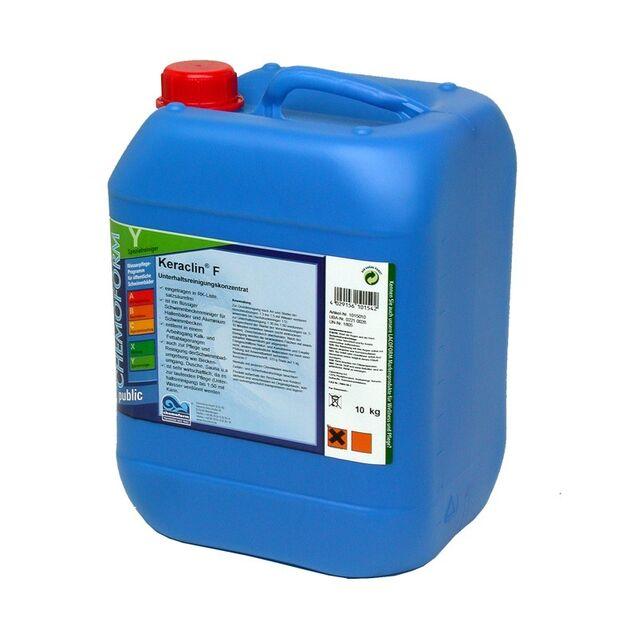 Очиститель Кераклин F жидкий Chemoform 1015010, 10 кг. Средство для удаления известковых отложений из фильтров