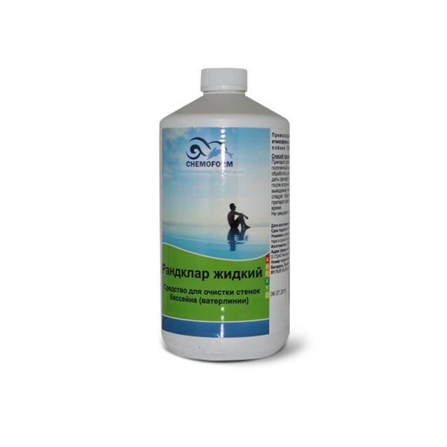 Очиститель Рандклар жидкий Chemoform 1101001, 1 л. Средство для удаления жировых отложений