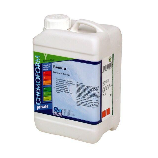 Очиститель Рандклар жидкий Chemoform 1101003, 3 л. Средство для удаления жировых отложений
