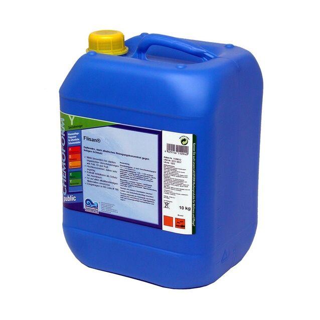 Очиститель Флисан жидкий Chemoform 1109010, 10 кг. Средство для удаления жировых отложений