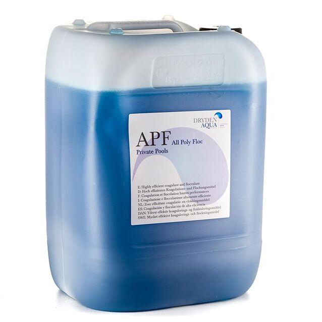 Высокоэффективный коагулянт и флокулянт «All Poly Floc» APF Dryden Aqua, 20 л