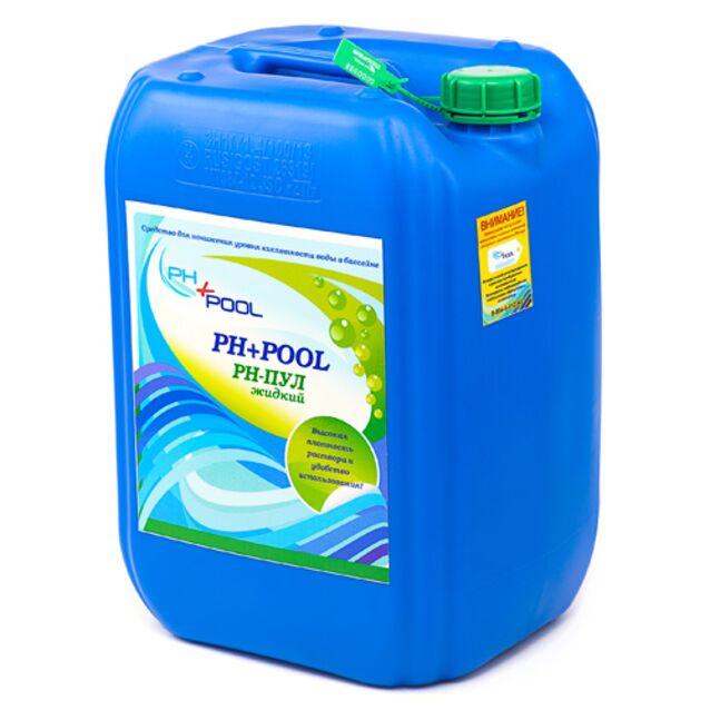 pH-минус жидкий, PH+Pool 330010, 37 кг. Средство для понижения уровня pH воды