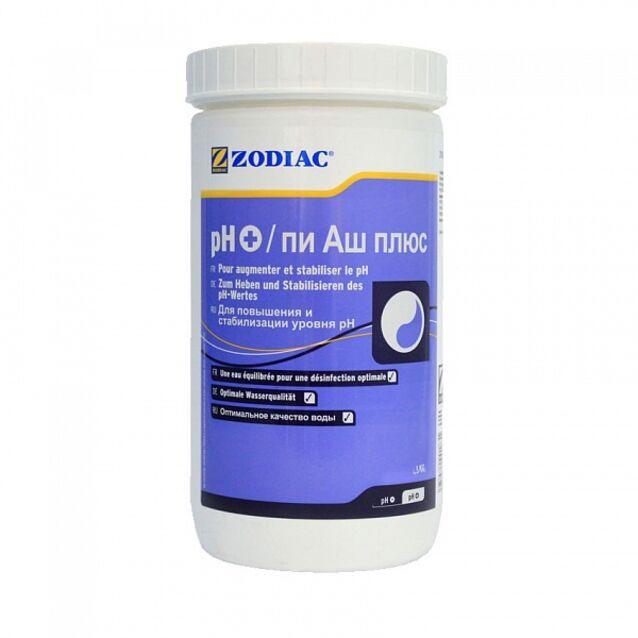 pH-плюс в гранулах, Zodiac W400186, 1 кг. Средство для повышения уровня pH воды