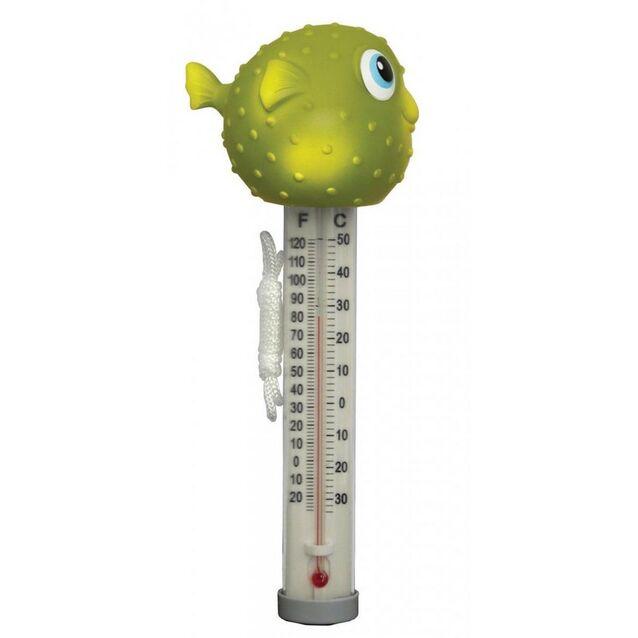 Термометр плавающий Kokido K265DIS/6P «Пучеглазики», игрушка Рыбка-фугу