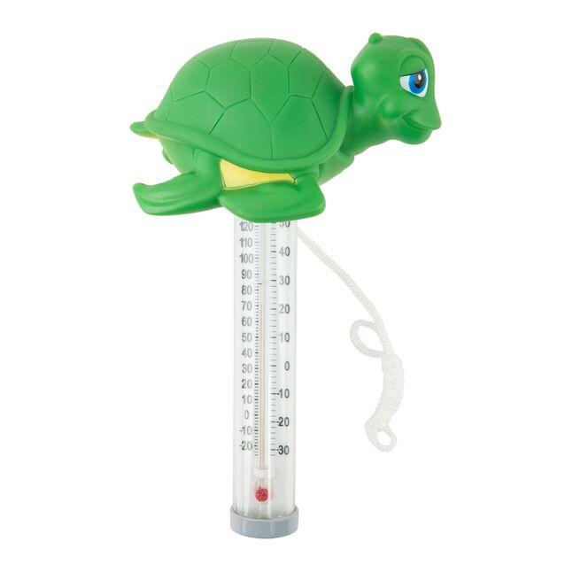 Термометр плавающий Kokido K785BU/6P «Счастливчики», игрушка Черепашка