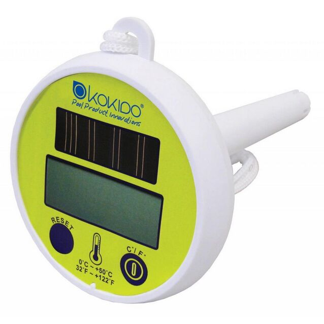 Термометр плавающий цифровой Kokido K837CS на солнечных батареях