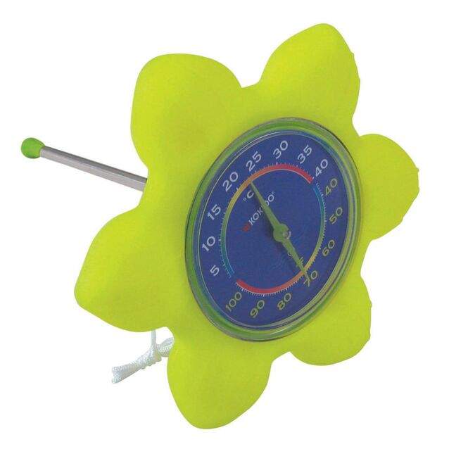 Термометр плавающий Kokido K842CBX/GRN «Цветок»