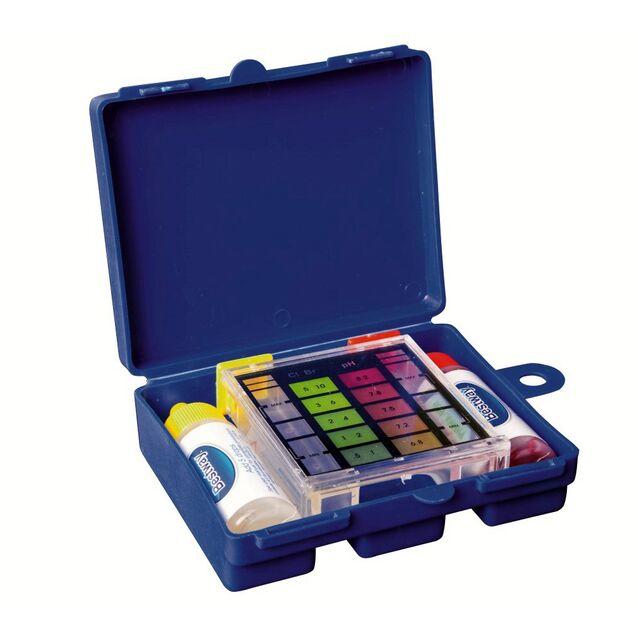 Тестовый набор Bestway «Swim Doctor» 58274. Капельный комплекс для определения уровня pH воды, брома и свободного хлора