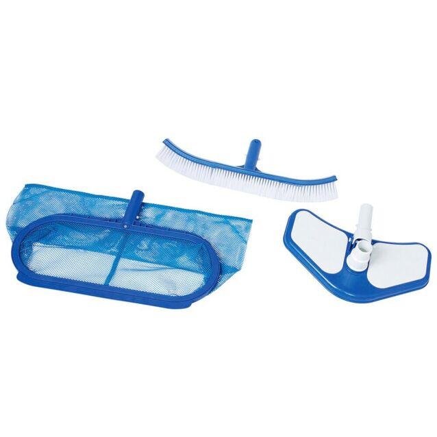 Уборочный комплект Intex 29057/50007. Комплект для очистки дна и стен бассейна без штанги