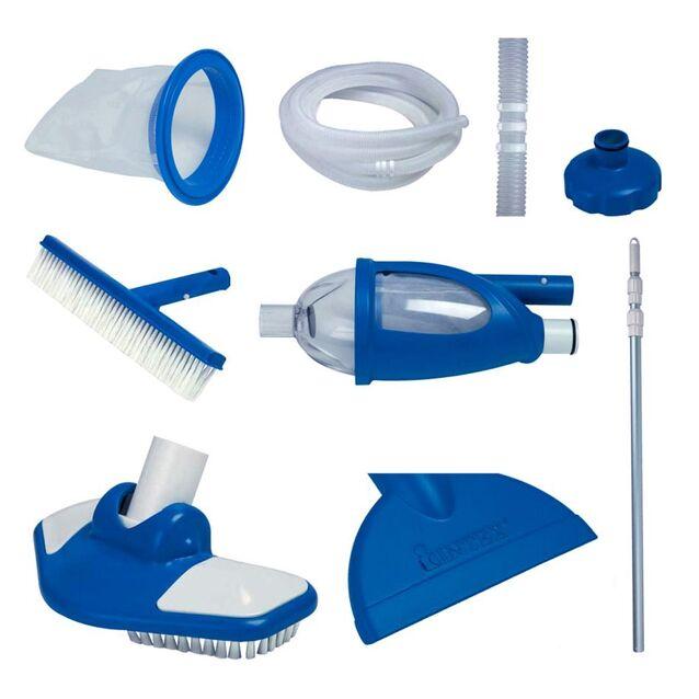 Уборочный комплект Intex «Deluxe» 28003/58959. Многофункциональный набор для обслуживания бассейнов