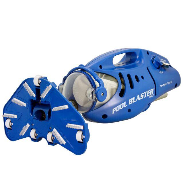 Ручной пылесос WaterTech Pool Blaster «MAX CG». Автономный очиститель дна и стенок бассейна на батарейках