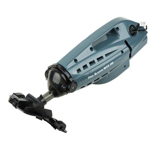Ручной пылесос WaterTech Pool Blaster «Max HD». Автономный очиститель дна и стенок бассейна на батарейках