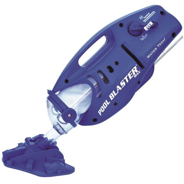 Ручной пылесос WaterTech Pool Blaster «MAX». Автономный очиститель дна и стенок бассейна на батарейках