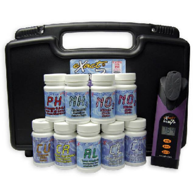 Тестовый набор фотометрический eXact® Micro 7+, для определения девяти основных химических показателей воды