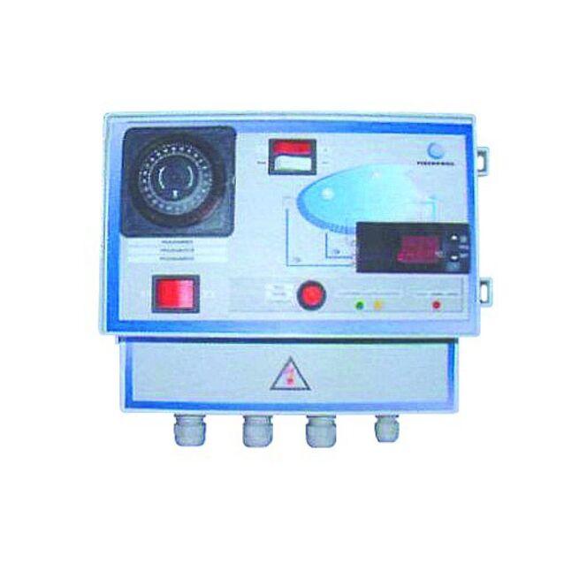 Панель управления фильтрацией и теплообмеником с термостатом Fiberpool VC041