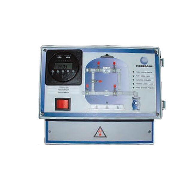 Панель управления 5-ти вентильной группой Fiberpool VC073