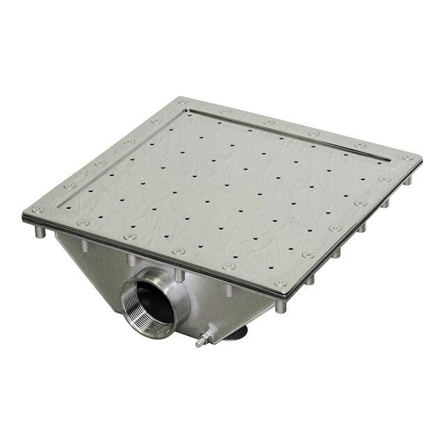 "Гейзер Runvil P2-01 «Квадратный 300 × 300», под плёнку, поток 30 м³/час, подключение Ø 2"" дюйма (внутренняя резьба)"