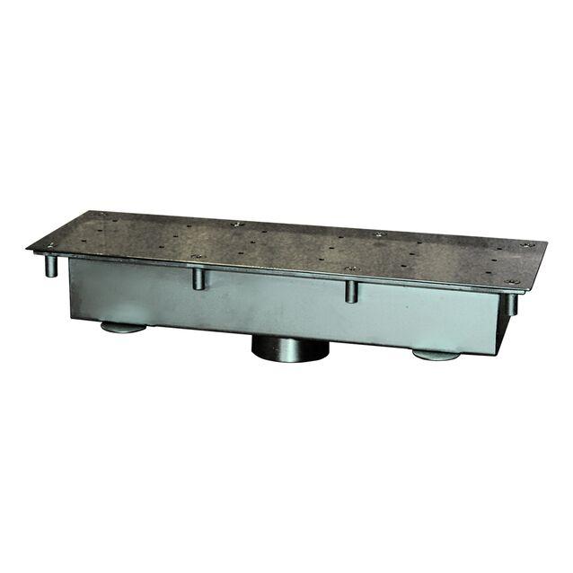 """Гейзер Runvil P2-20 «Прямоугольный 140 × 400», под плитку, поток 20 м³/час, подключение Ø 2"""" дюйма (внутренняя резьба)"""