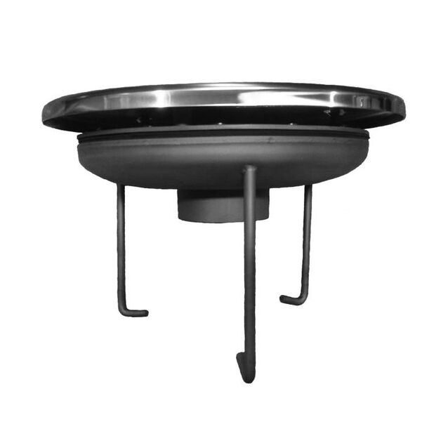 "Водозабор Runvil P5-05 с антивихревой крышкой, Ø 250 мм, 30 м³/час, под плитку, подключение Ø 2.5"" дюйма (внутренняя резьба)"