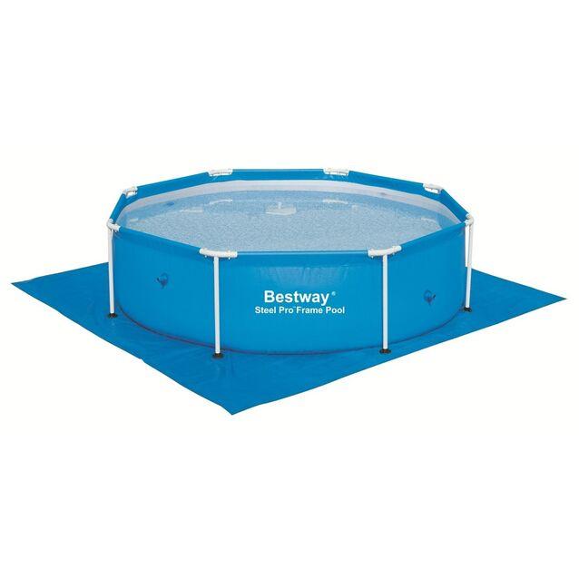 Покрытие под бассейн, подстилка Bestway 58000, 274 × 274 см
