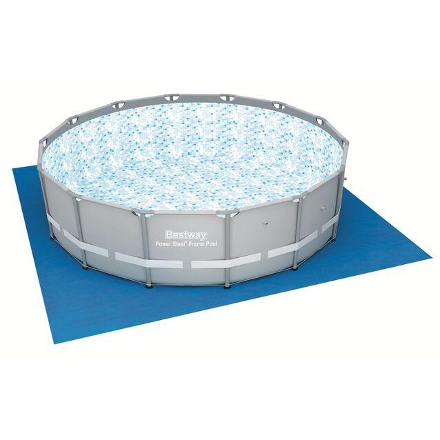 Покрытие под бассейн, подстилка Bestway 58003, 488 × 488 см