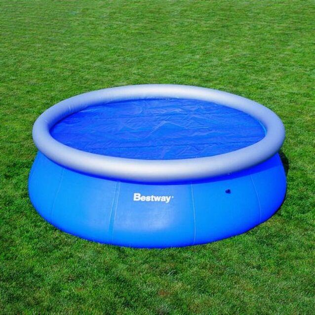 Теплосберегающее покрытие на бассейн Bestway 58060, диаметр 244 см