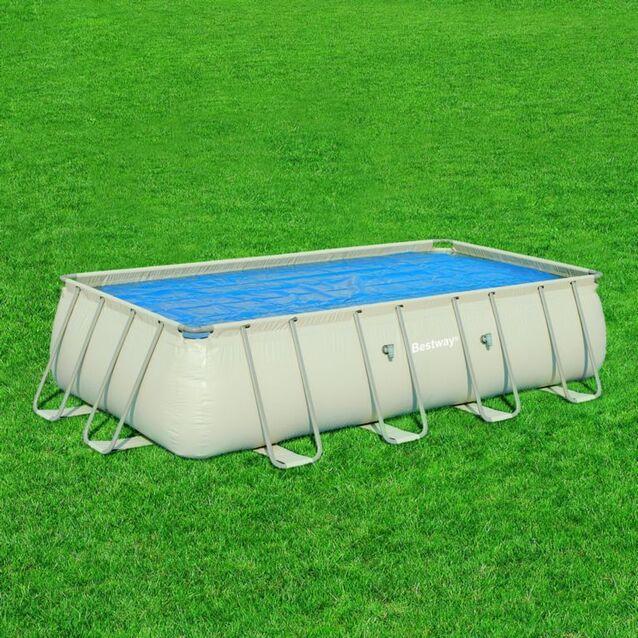 Теплосберегающее покрытие на бассейн Bestway 58163, размер 665 × 395 см