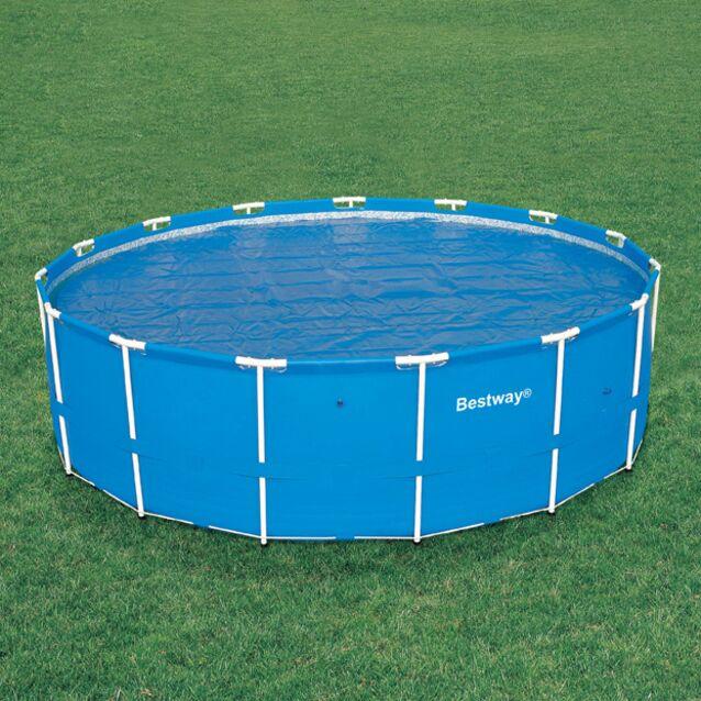 Теплосберегающее покрытие на бассейн Bestway 58172, диаметр 440 см