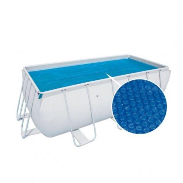 Теплосберегающее покрытие на бассейн Bestway 58240, размер 375 × 175 см